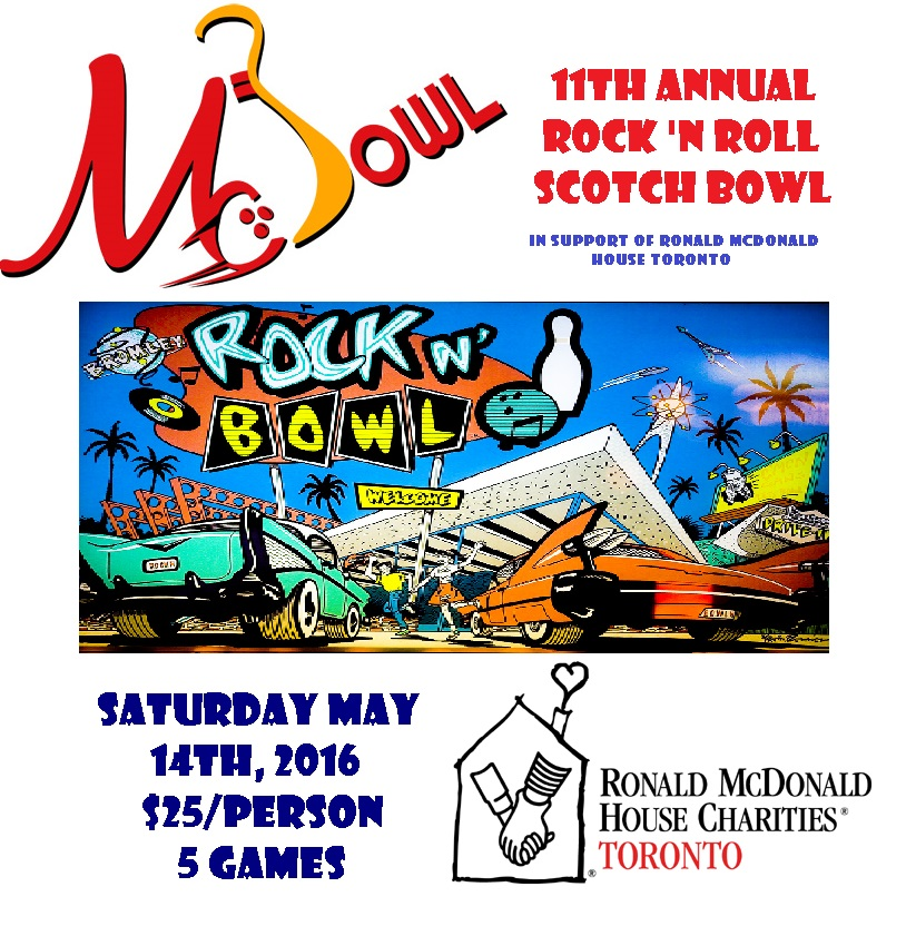 Rock 'n Roll Scotch Bowl Poster